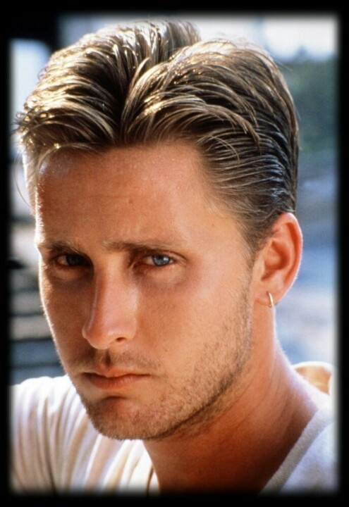 Emilio Estevez, offspring of the Martin Sheen Machine...and MUCH less obnoxious than his bro Charlie Sheen.