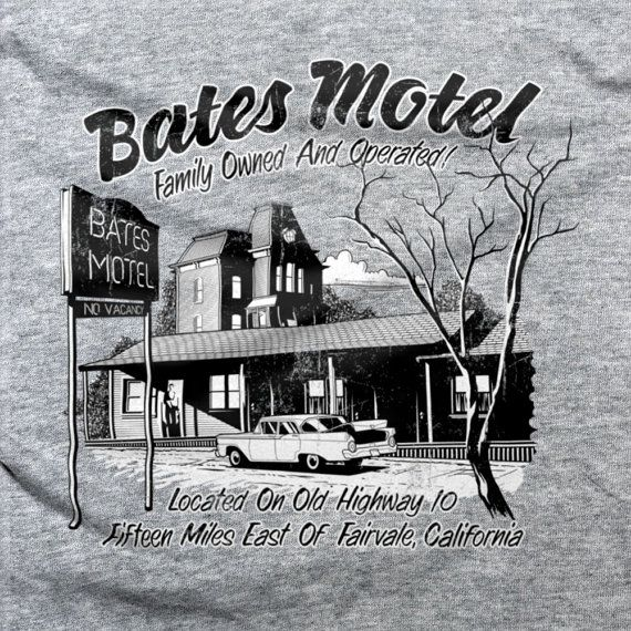 Hey, I found this really awesome Etsy listing at https://www.etsy.com/listing/230772132/bates-motel-t-shirt-parody-psychos
