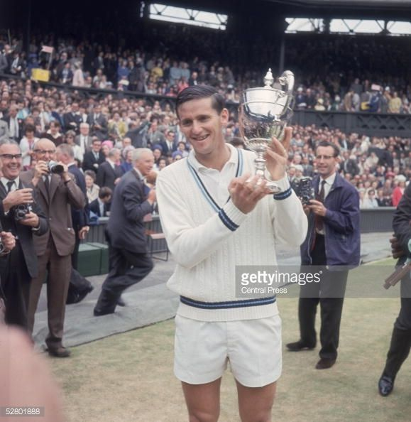Roy Emerson - 1965 Wimbledon Men's Singles Champion