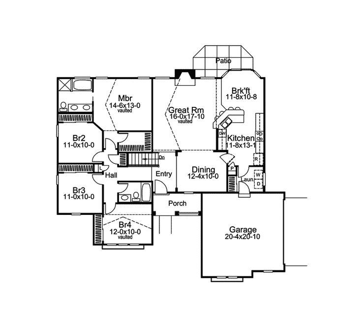 74 best house plans images on pinterest   house floor plans, home