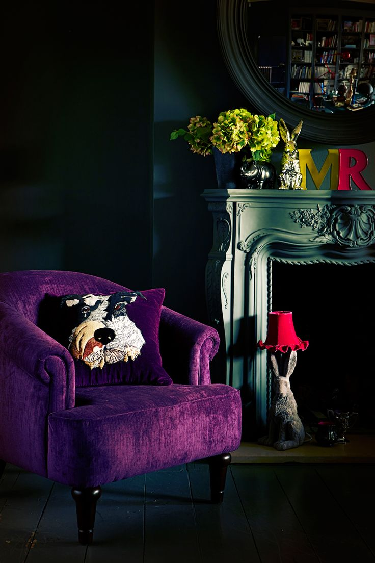 Cushions, candles, lamps and way more - Abigail Ahern collection for Debenhams. That fabulous hare lamp in the background!