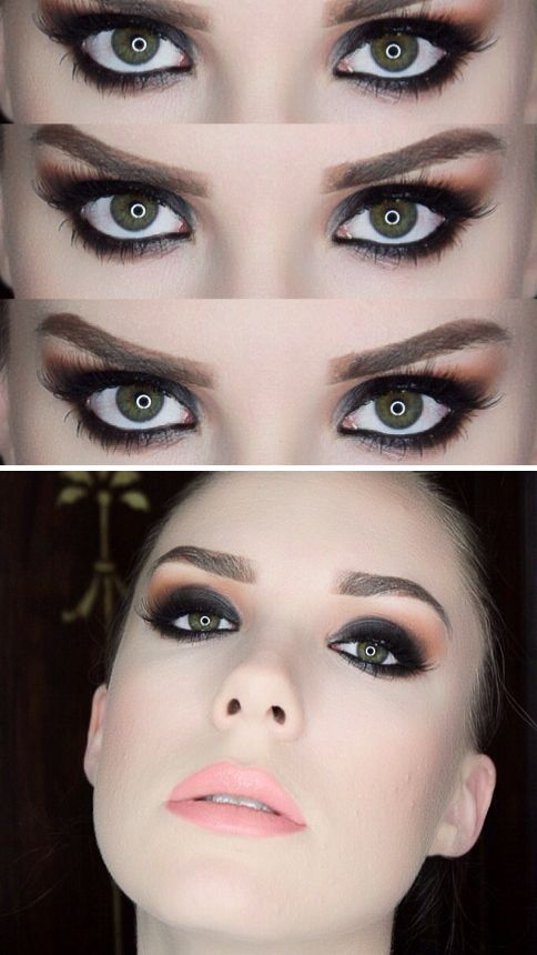 Dark and smoky make up tutorial by Sarah Nicole. We worked with Sarah on our last shoot at Moorea Seal and she was so amazing!