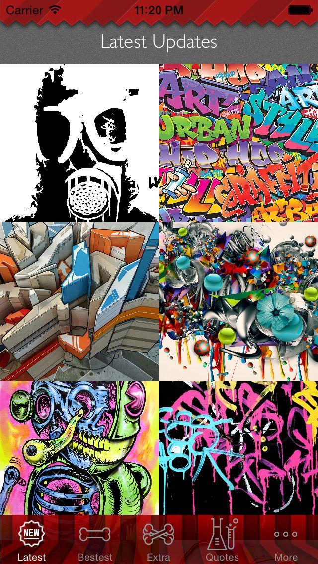 Graffiti Art Theme HD Wallpaper and Best Inspirational