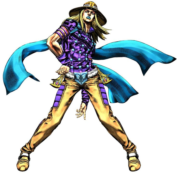 Gyro Zeppeli in JoJo All Star Battle