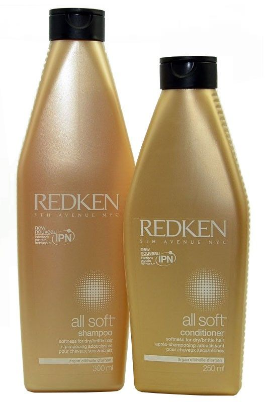 Redken All Soft - Shampoo & Conditioner - 550ml  #hair #hairstyles #beauty #haare #frisuren #tutorial #haircare #styling #libute