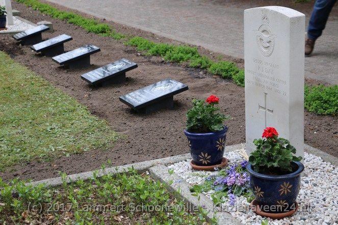 Herdenking Amerikaanse soldaten Nieuw-Dordrecht 04-05-2017