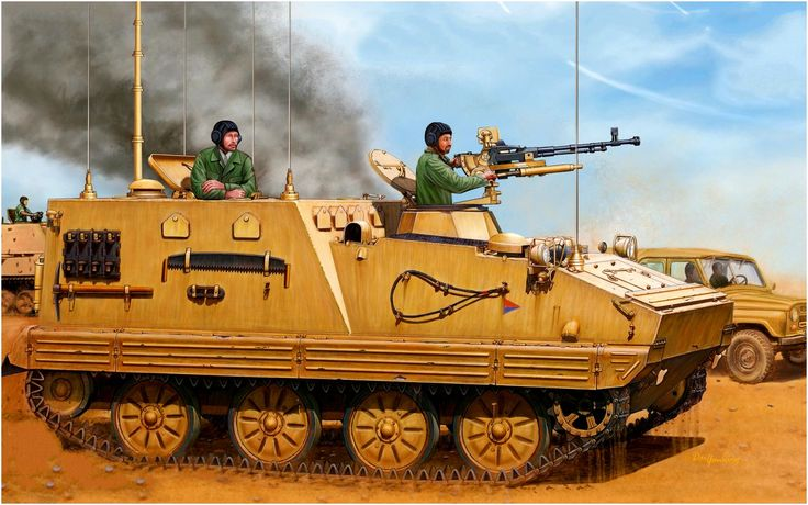 YW-701A Armored Command and Staff vehicle based on the Chinese BTR-81 model, serving Iraqis during the Gulf War
