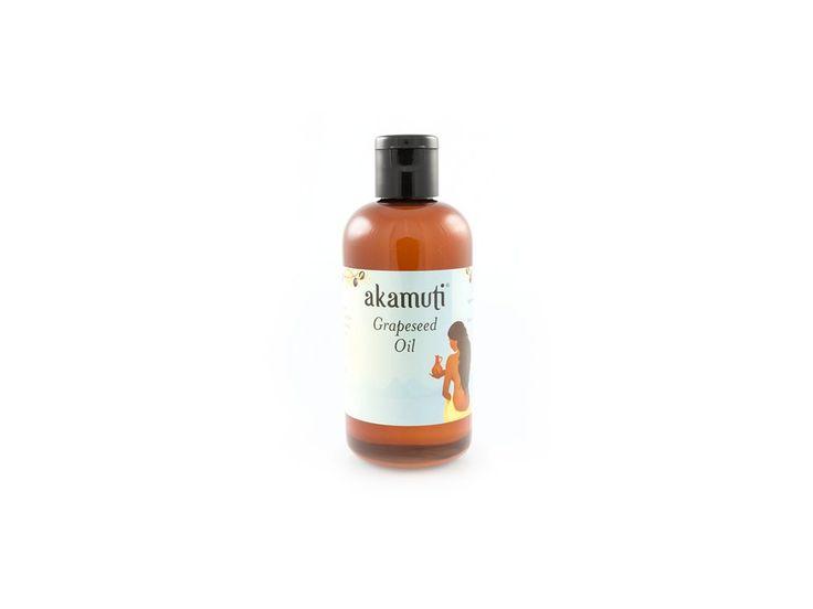 Akamuti olej z hroznových jadérek