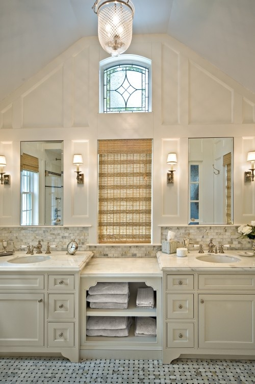 Diana Bier Interiors, LLC   Traditional   Bathroom   New York   Diana Bier  Interiors, LLC Love The Window Insert And Tile Work