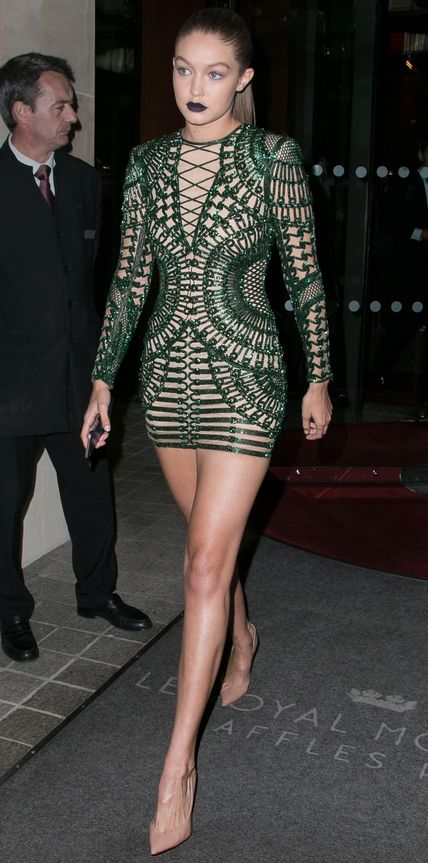 Look of the Day - Gigi Hadid - from InStyle.com