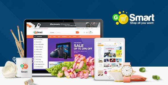 Are you seeking template to create your website fast? Install Ves Gosmart in minutes and start to...