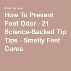 Unfortunately my feet get stinky pretty easily (and have been that way since I was a baby) and I wear boots most of the time which doesn't help. It makes me so self conscious when I go to the house of a person who wants guests to leave their shoes at the door. I've seen tons of foot soaks to get rid of stinky feet but I need something to prevent it in the first place.