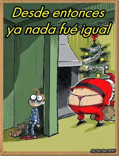 humor grafico navidad ya nada sera igual. Christmas won't be the same after that