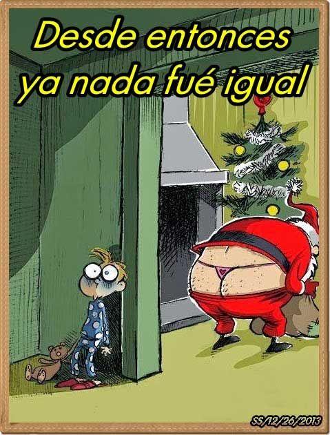 humor grafico navidad ya nada sera igual