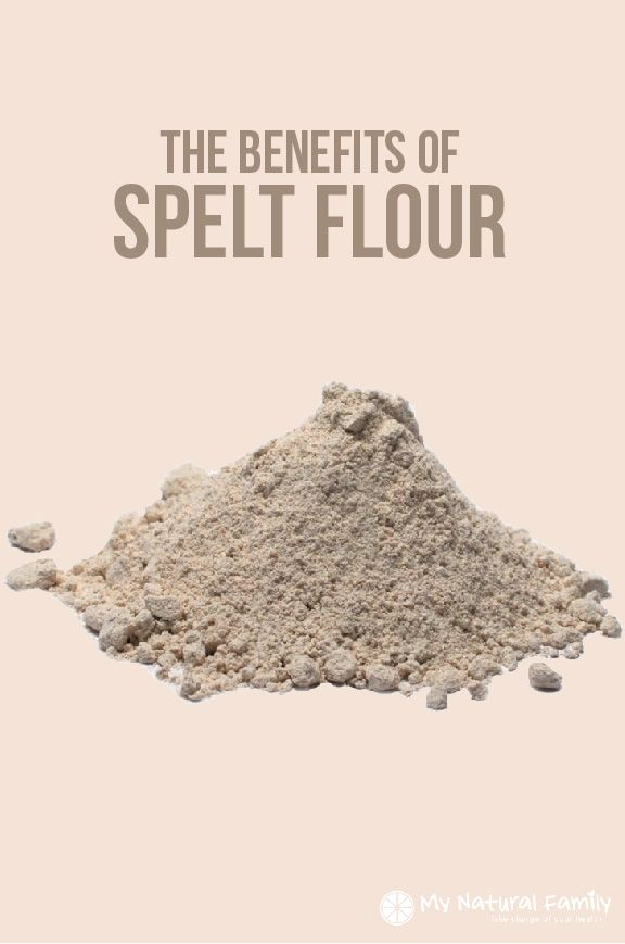 The Benefits of Spelt Flour - My Natural Family