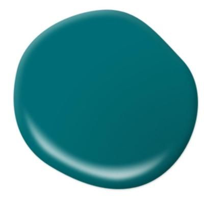 BEHR MARQUEE 1 gal. #MQ6-35 Teal Motif One-Coat Hide Semi-Gloss Enamel Interior Paint - 345301 - The Home Depot