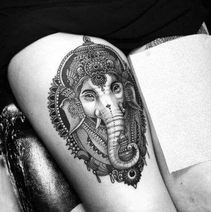 Trendy Tattoo Elephant Ganesha Tat Ideas