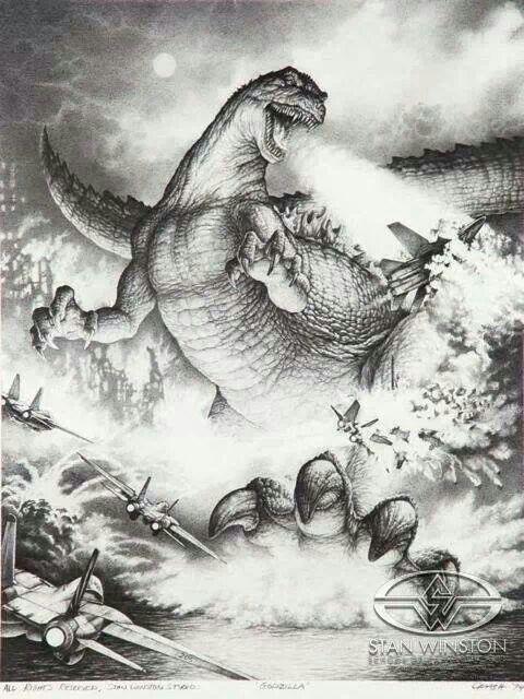 Godzilla by Stan Winston