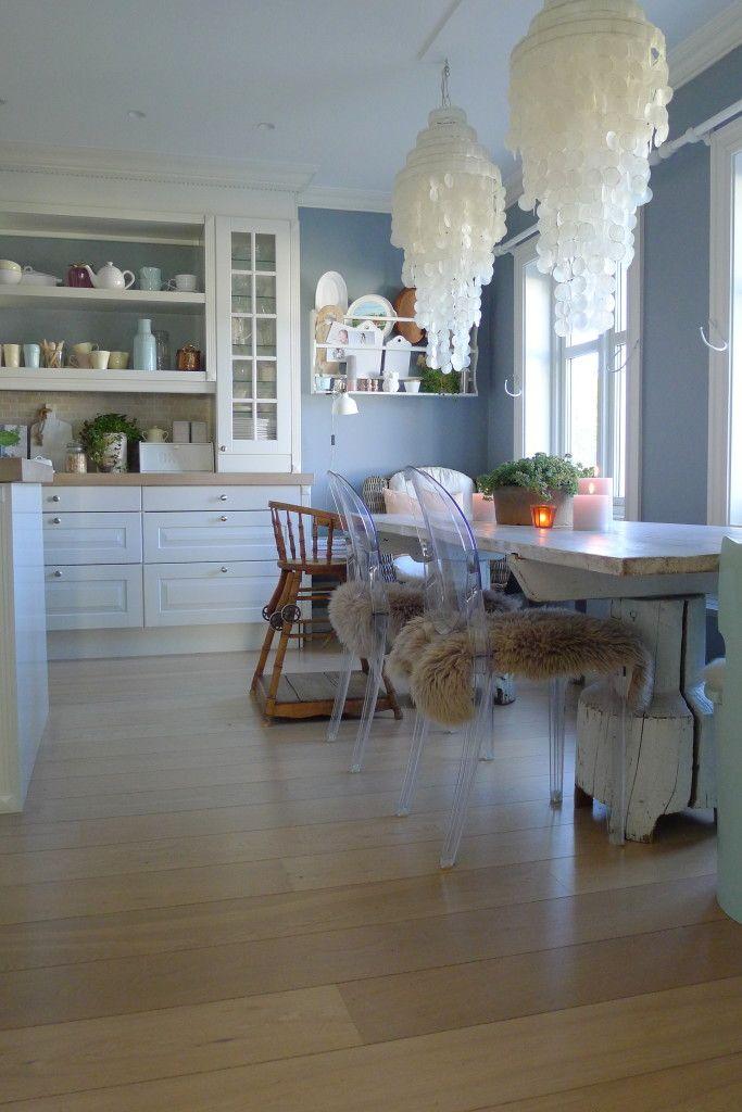 villavonkrogh kjøkken duggblå