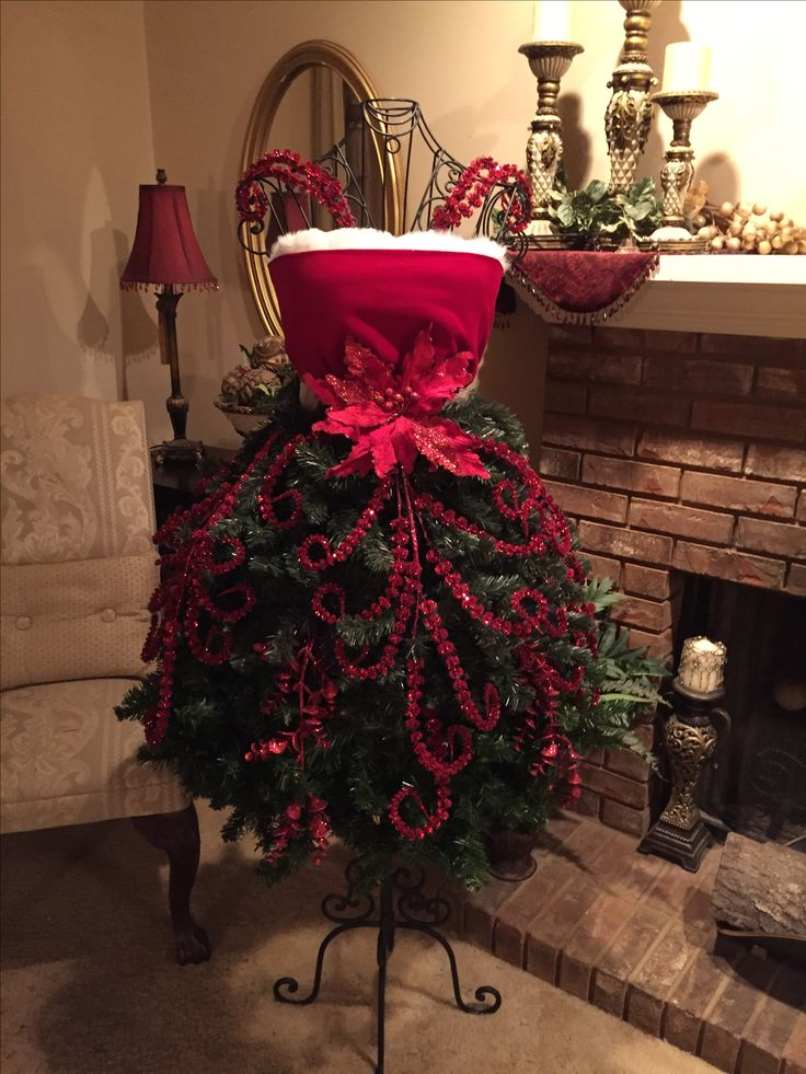 Christmas Dress form, New Christmas window decoration