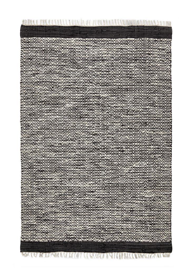 Kodin1 - ANNO Kaarna räsymatto 60x90cm | Puuvillamatot