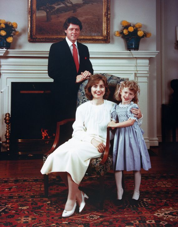 The Clintons posing in yet another borrowed house. The one the governors in AK live in. They are one awful trio now and were then. Homeless, ugly, dishonest and he spent most of his time looking for women to abuse. Still does.