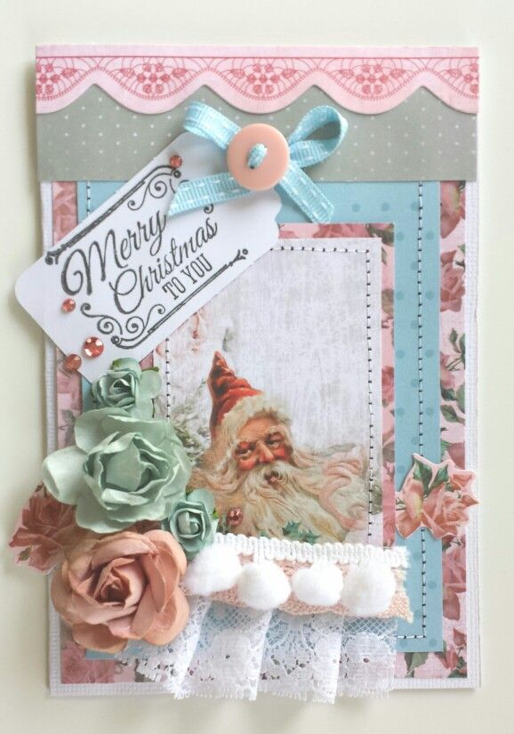 Kaisercraft : Silver Bells Collection : Stamp and Paper Pad feature card by Amanda Baldwin