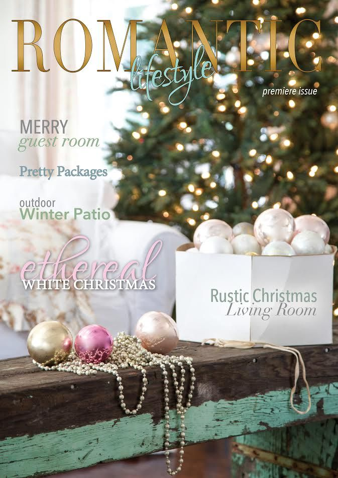 17 best images about christmas shabby chic style on for Country cottage magazine