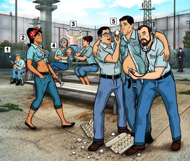 "[ew_image url=""http://img2.timeinc.net/ew/i/2015/01/05/ARCHER-PRISON_612x520.jpg"" credit=""FX Networks"" align=""left""]  The sixth season of FX's animated series Archer (premiering Jan. 8 at 10 p.m.) finds the show's bickering spies back in the espionage game, after spending the previous year trying to sell a metric ton of cocaine. But creator-writer Adam Reed had originally planned to send self-obsessed Sterling Archer, new mom Lana, booze-sodden boss Malory, and the rest of the team to the…"