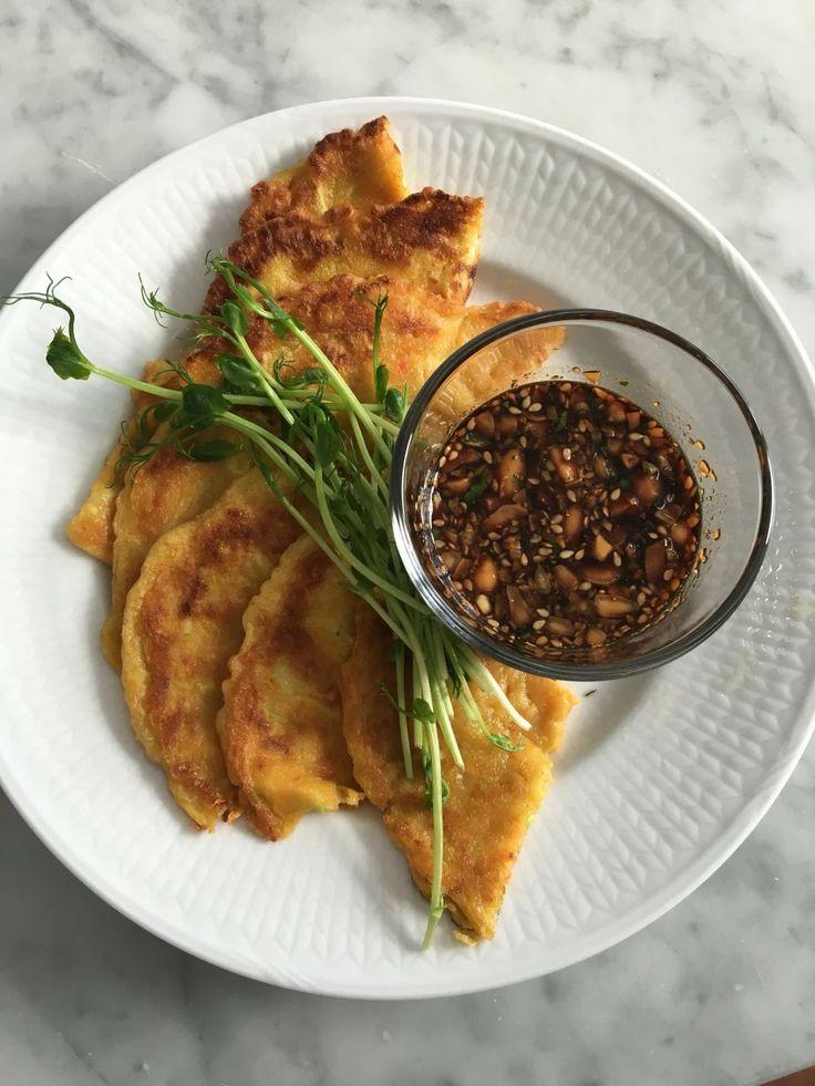 Recept koreanska pannkakor | Herr och Fru Lagergren | Bloglovin'