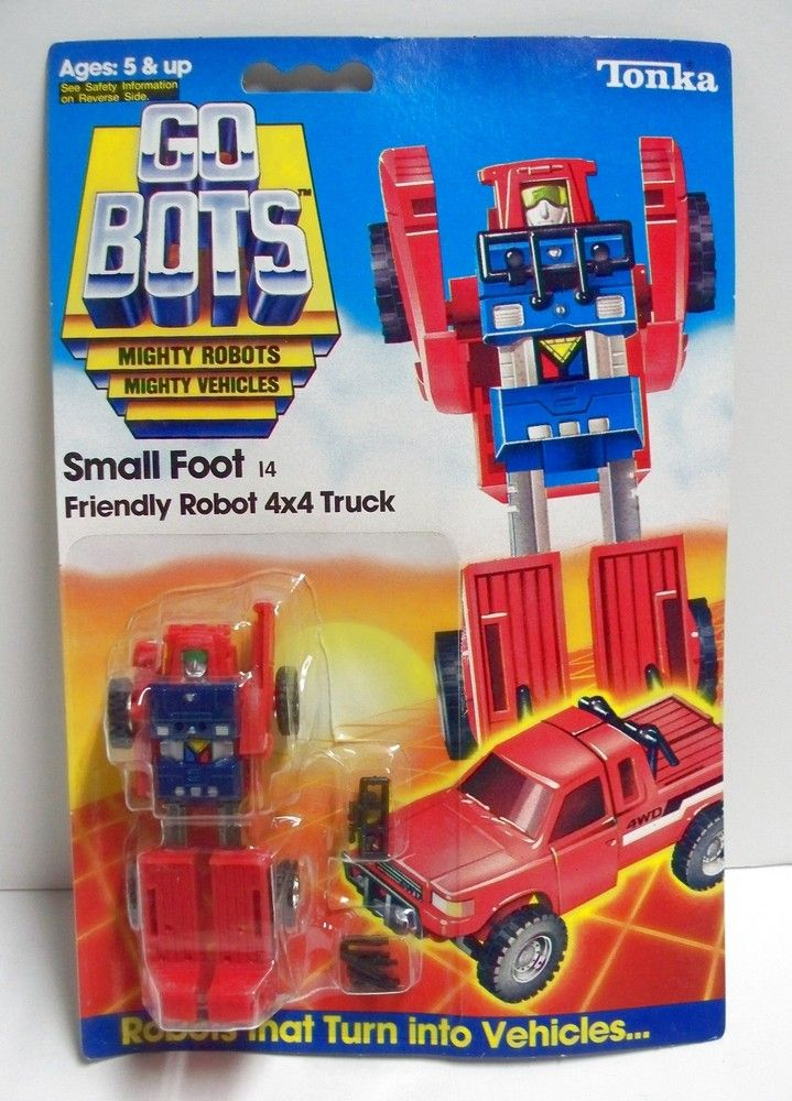 Final Frontier Toys Small Foot Friendly Robot 4x4 Truck