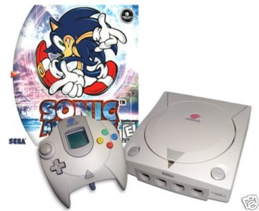 ON SALE NOW! (Sega Dreamcast System Console Complete + Sonic Adventure) $79.95 WFREE U.S. SHIPPING! - http://allstarvideogames.ecrater.com/
