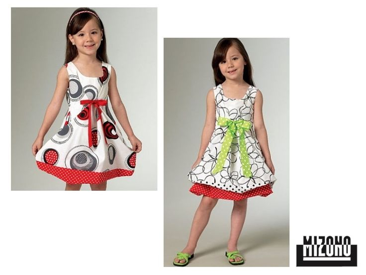 Pattern Vogue 1455 Kinderen - Dress | stoffen-hemmers.be