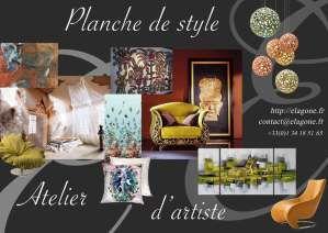 http://elagone.fr  Styliste consultante et décoratrice d'intérieur