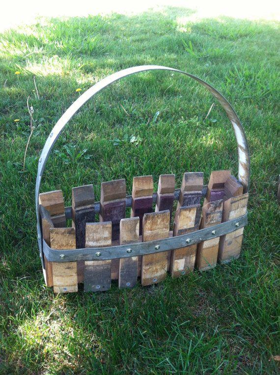 Wine Barrel Project Basket