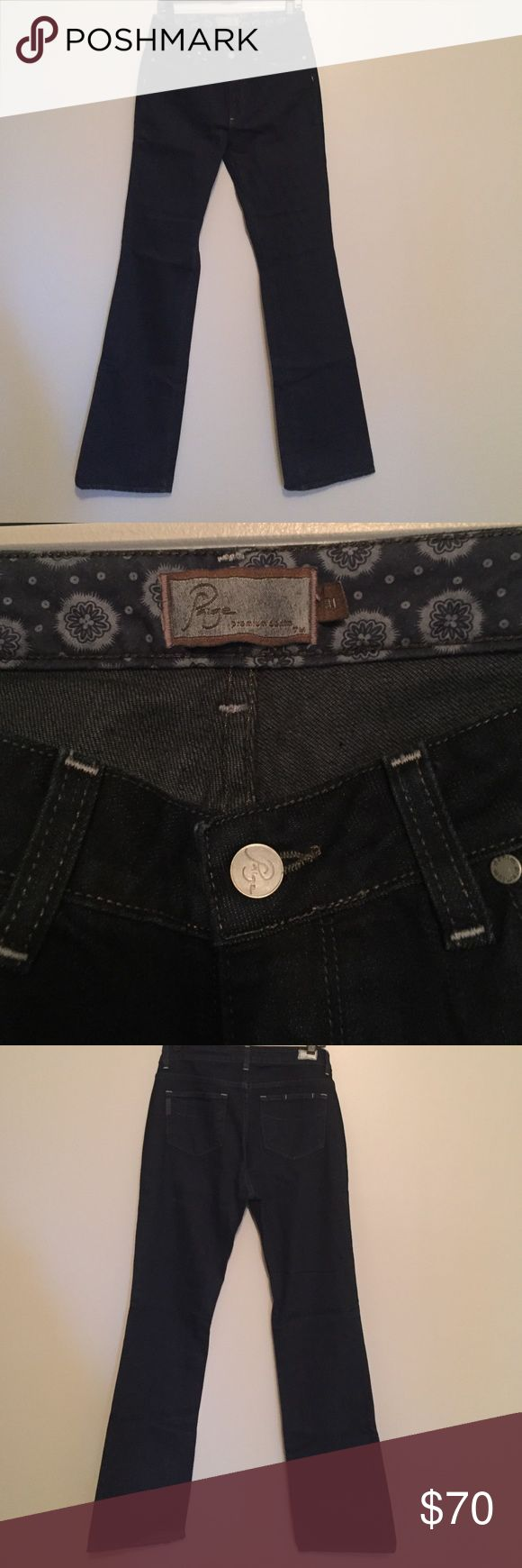 Paige Dark Denim Jeans New with tags. Unworn Paige Premium Denim Jeans. Dark Blue. Classic fit for any outfit! Paige Jeans Jeans Boot Cut