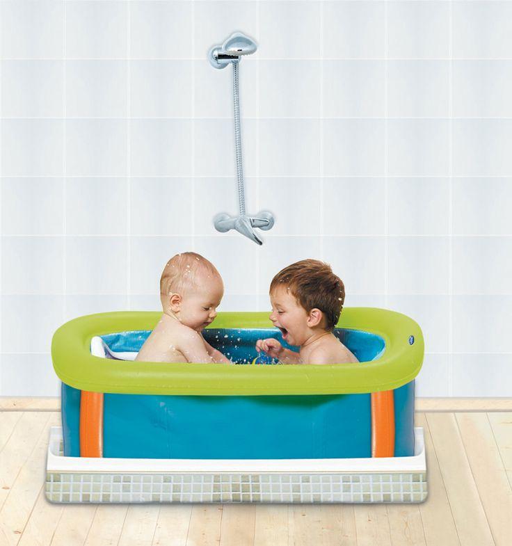 les 25 meilleures id es concernant baignoire pour b b sur. Black Bedroom Furniture Sets. Home Design Ideas
