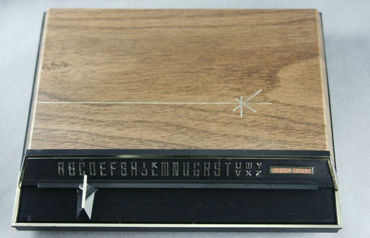 Vtg 60s Park Sherman List Finder Index with Area Codes Memo Pad Pencil Atomic