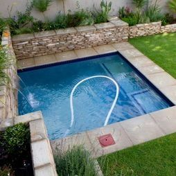 Back Yard Plunge Pool | Pool Small Plunge Pool Design, Pictures, Remodel, Decor and Ideas ...