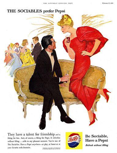 vintage ad February 1960
