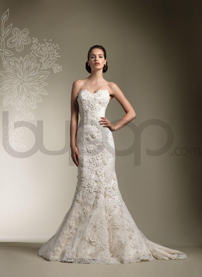 Lace Mermaid/Trumpet Wedding Dress
