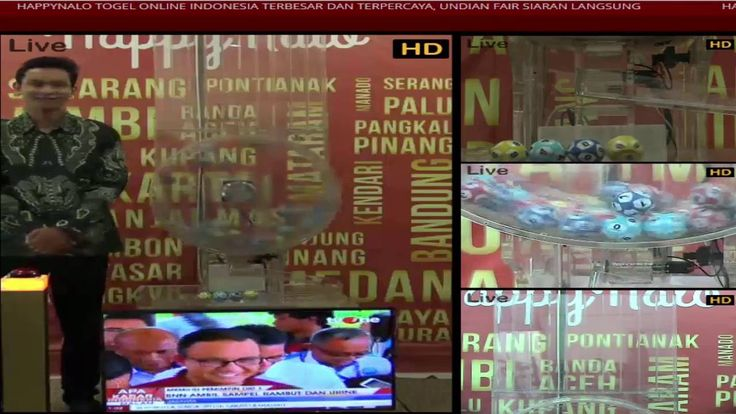 Hasil Live Togel Buntut Undian Kupon HappyNalo Periode 25 September 2016