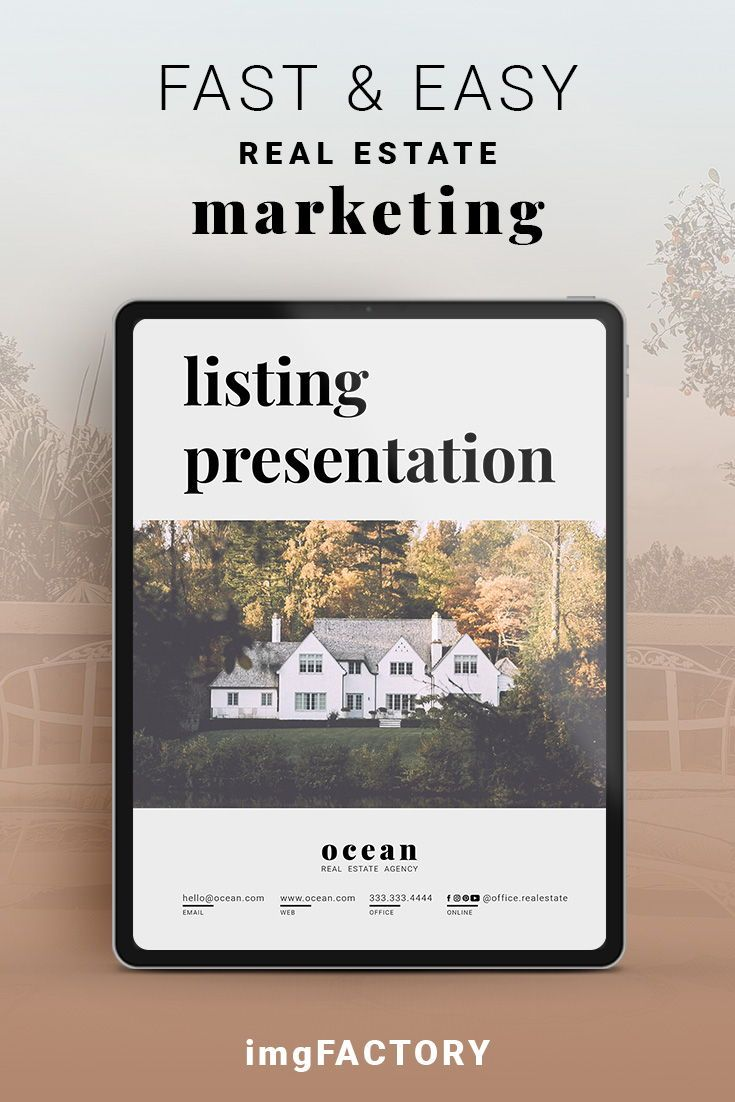 Real Estate Listing Presentation Template Home Buyer Guide
