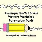 $ This is one year-long curriculum guide for writers workshop in kindergarten or first grade.  It features mini-lesson outlines based on nine writing...