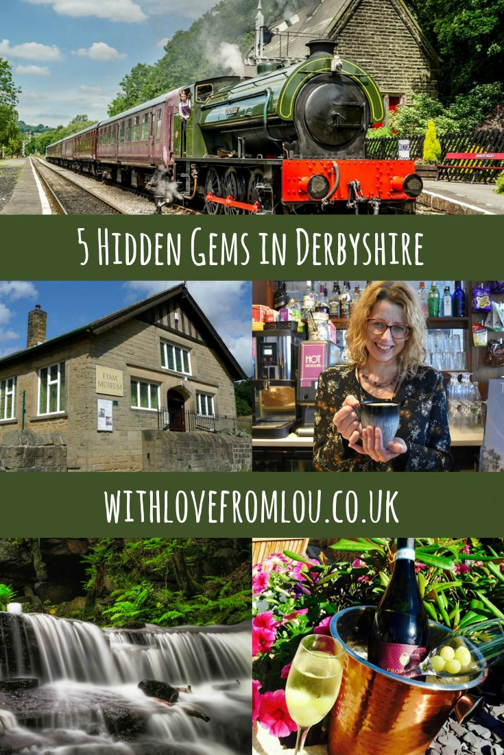 5 Hidden Gems in Derbyshire. Click here to find out more: http://withlovefromlou.co.uk/2017/01/5-hidden-gems-in-derbyshire/