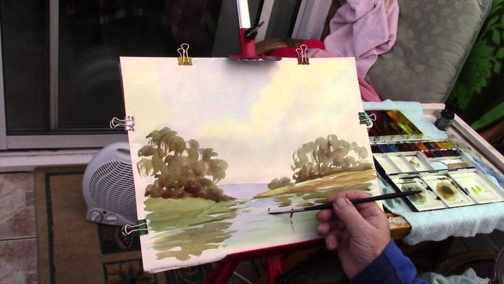 Watercoloring tips for beginners and advanced