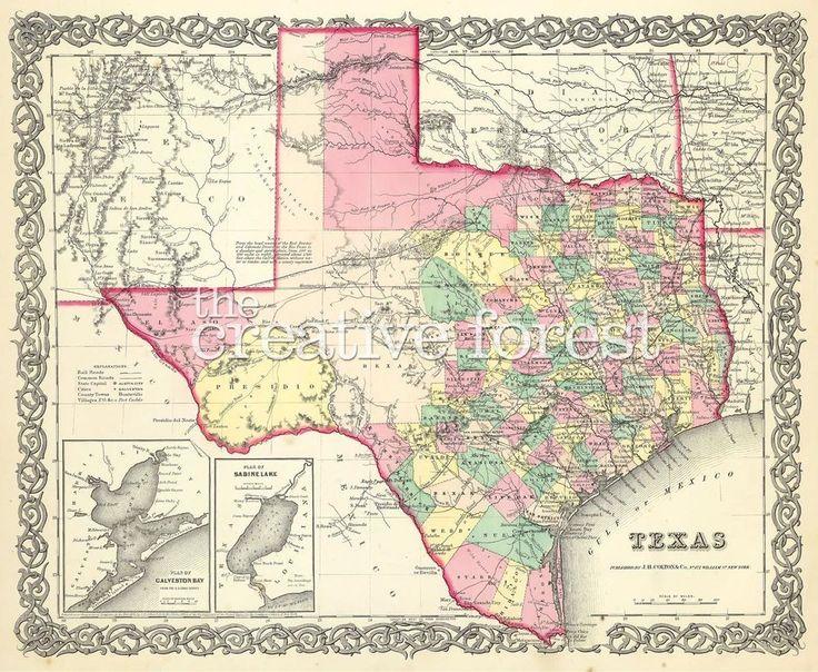 Melhores Ideias De Texas State Map No Pinterest Presentes - Mapas de texas