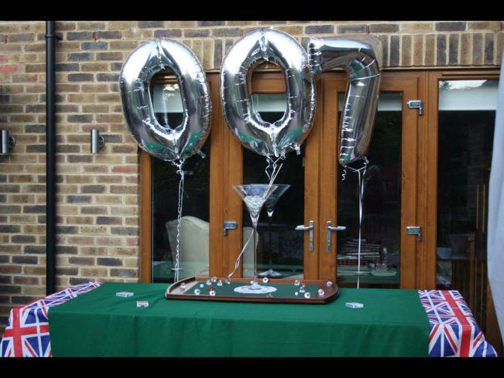 31 best james bond 007 party images on pinterest james for 007 table decorations