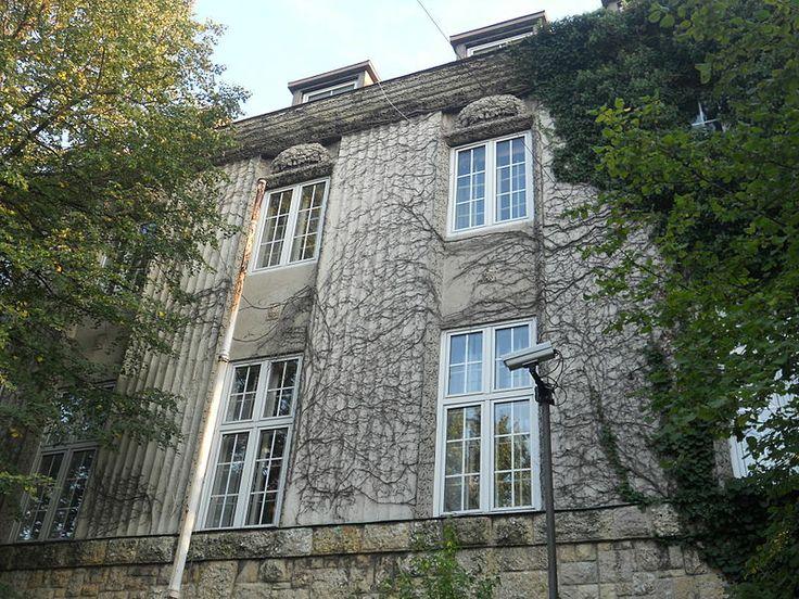 Josef Hoffmann, Villa Ast, 1909-11, Steinfeldgasse 2, Vienna