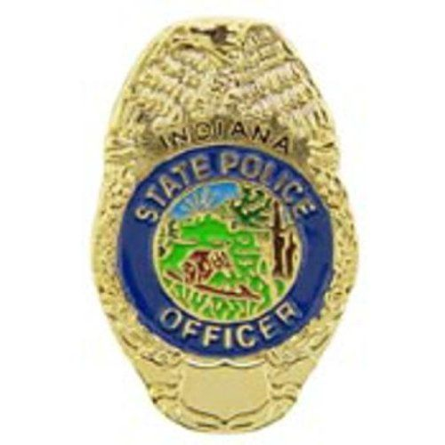 """Indiana State Police Badge Pin 1"""" by FindingKing. $9.50. This is a new Indiana State Police Badge Pin 1"""""""